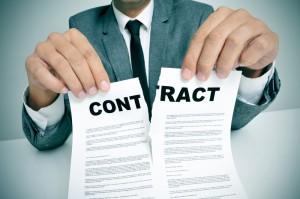 Annulation du Contrat