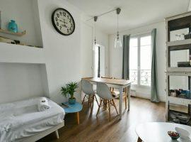 Paris 10ème - Viager Libre - F93 ans - 2 pièces 34 m²